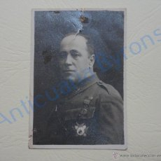 Militaria: FOTOGRAFÍA ORIGINAL. MILITAR (9 X 6 CM) . Lote 52592326