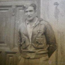 Militaria: FOTOGRAFÍA TENIENTE PROVISIONAL DEL EJÉRCITO NACIONAL. VALENCIA 1939. Lote 52610566