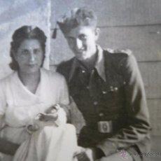 Militaria: FOTOGRAFÍA SOLDADO AVIACIÓN. 1941. Lote 52653319