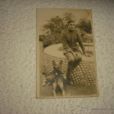 Militaria: ANTIGUA FOTO DE MILITAR . MELILLA 1925. Lote 52665145