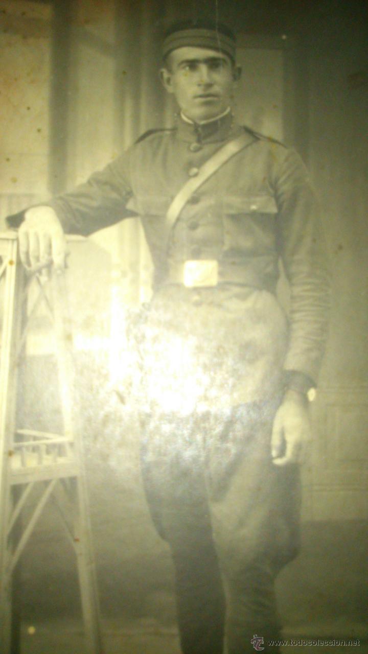Militaria: Militar de Infantería años 1920-1930 - Foto 2 - 52763367