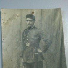 Militaria: SOLDADO ESPAÑOL AÑOS 1920-1930. Lote 52763443