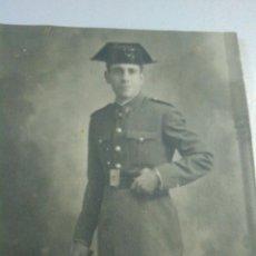 Militaria: FOTO DEDICADA DE GUARDIA CIVIL 1940-1950. Lote 52763489