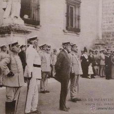 Militaria: FOTOGRAFÍA POSTAL , ACADEMIA DE INFANTERÍA - 1913 - 14. Lote 52801931