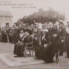Militaria: FOTOGRAFÍA POSTAL, ACADEMIA DE INFANTERÍA CURSO 1913 - 14. Lote 52804459