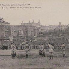Militaria: FOTOGRAFÍA POSTAL, ACADEMIA DE INFANTERÍA 1912 . Lote 52805005