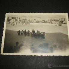 Militaria: CALANDA TERUEL ACTUACION PLAZA DE TOROS FOTOGRAFIA POR SOLDADO ALEMAN LEGION CONDOR GUERRA CIVIL. Lote 52808962