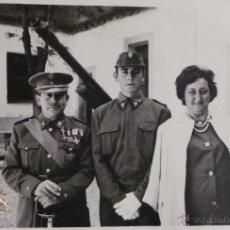 Militaria: FOTOGRAFÍA MILITARES ESPAÑOLES - MEDIDAS 10,5 X 7,5 CM. Lote 52842959