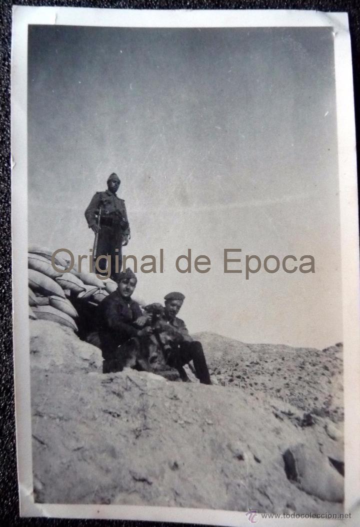 (JX-1133)FOTOGRAFIA DE OFICIAL DE INTENDENCIA,VILLAFRANCA DE EBRO-GUERRA CIVIL (Militar - Fotografía Militar - Otros)