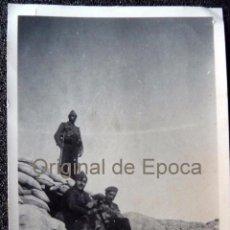 Militaria: (JX-1133)FOTOGRAFIA DE OFICIAL DE INTENDENCIA,VILLAFRANCA DE EBRO-GUERRA CIVIL. Lote 52846544