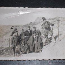 Militaria: FOTO FOTOGRAFIA SOLDADOS FALANGE EN FRENTE DE ARAGÓN.. Lote 52890501