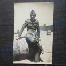Militaria: FOTOGRAFÍA ANTIGUA ORIGINAL. MILITAR. (6 X 9 CM). Lote 52899185