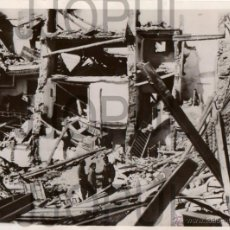 Militaria: RUINAS DE BELCHITE TRAS ALA BATALLA. 1938. ORIGINAL. Lote 52914595