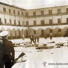 Militaria: INTERIOR DEL CUARTEL DE LA MONTAÑA TRAS SU ASALTO. MADRID. 1936. FOTO: ALFONSO. ORIGINAL DE EPOCA. Lote 52932834