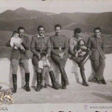 Militaria: FOTOGRAFÍA MILITARES ESPAÑOLES 8,5 X 6 CM. Lote 52943797