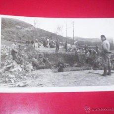 Militaria: POSTAL GUERRA CIVIL MONDRAGON GUIPUZCOA FOTOGRAFIA MARIN SAN SEBASTIAN. Lote 52970438
