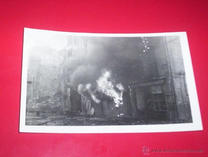 POSTAL FOTOGRAFICA GUERRA CIVIL EIBAR GUIPUZCOA FOTOGRAFIA MARIN SAN SEBASTIAN (Militar - Fotografía Militar - Guerra Civil Española)