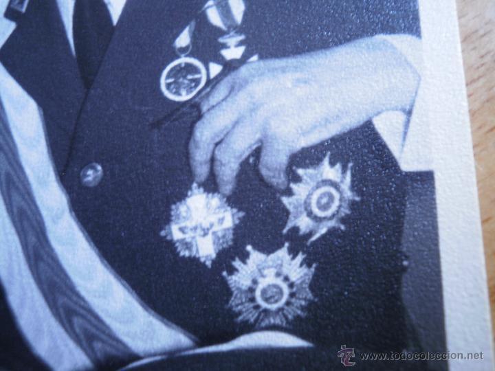Militaria: Fotografía general de brigada aviación. Placa Gran Cruz del Mérito Aeronáutico - Foto 4 - 53045983