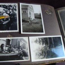 Militaria: ALBUM DE SOLDADO ALEMAN CON FOTO DE HITLER. Lote 53079329