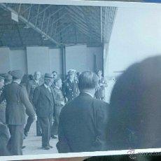 Militaria: EJÉRCITO DEL AIRE VISITA DE FRANCO A INSTALACIONES AÉREAS . Lote 53165675