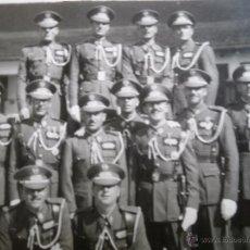 Militaria: FOTOGRAFÍA SARGENTOS PROVISIONALES DEL EJÉRCITO ESPAÑOL. ACADEMIA DE TRANSFORMACIÓN. Lote 53183476