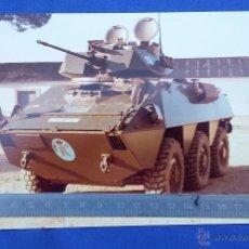 Militaria: FOTOGRAFIA PUBLICITARIA VEC-TC-25 REALIZADA POR LA EMPRESA PEGASO-ENASA EN LOS AÑOS 80. Lote 53261942