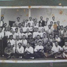 Militaria: GUERRA CIVIL : MILICIAS NACIONALES SEVILLA , SARGENTO Y MILICIANOS DE FALANGE . SEVILLA, 1936. Lote 53274605