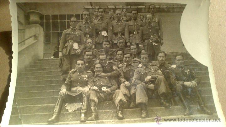 DEDICATORIA AL TENIENTE GENERAL 2º JEFE, DE LA SECCION CICLISTA, DIA DE LA PATRONA. MADRID 8 12 1949 (Militar - Fotografía Militar - Otros)