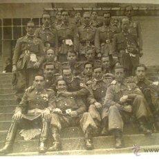 Militaria: DEDICATORIA AL TENIENTE GENERAL 2º JEFE, DE LA SECCION CICLISTA, DIA DE LA PATRONA. MADRID 8 12 1949. Lote 53375740