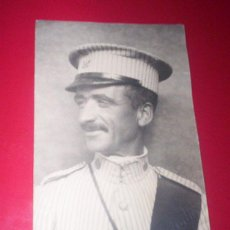 Militaria: PRECIOSA FOTO ORIGINAL MILITAR ALFONSINO FOTODIN UNIFORME RAYADILLO GORRA Nº30 AFRICA MARRUECOS. Lote 56304837