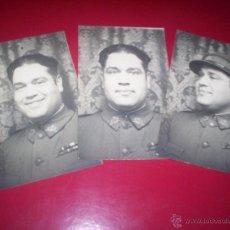 Militaria: FOTO ORIGINAL MILITAR ALFONSINO 1929 FOTODIN MADRID UNIFORME GORRA REGULARES MEDALLAS. Lote 53376357