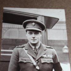 Militaria: ANTIGUA FOTOGRAFÍA DE JOVEN EDUARDO VIII DUQUE DE WINDSOR SOBRE MARCO CARTON.. Lote 53518807