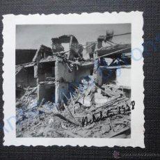 Militaria - FOTOGRAFÍA ANTIGUA ORIGINAL. BELCHITE. AÑO 1938. (6 X 6 CM) - 53552547