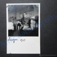 Militaria: FOTOGRAFÍA ANTIGUA ORIGINAL. GUERRA CIVIL. TENIENTE CORONEL. BANDO NACIONAL. ZARAGOZA 1937. Lote 53564500