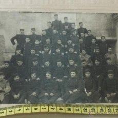 Militaria: FOTOGRAFIA MILITAR - REGIMIENTO GUERRA DEL RIF - UNIFORME - HOMBRERAS PLATANO. Lote 53579943