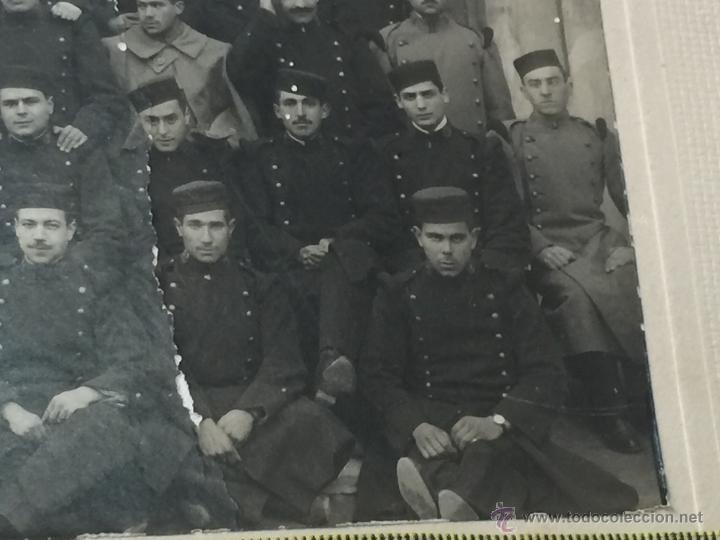 Militaria: Fotografia militar - Regimiento guerra del rif - Uniforme - Hombreras platano - Foto 3 - 53579943