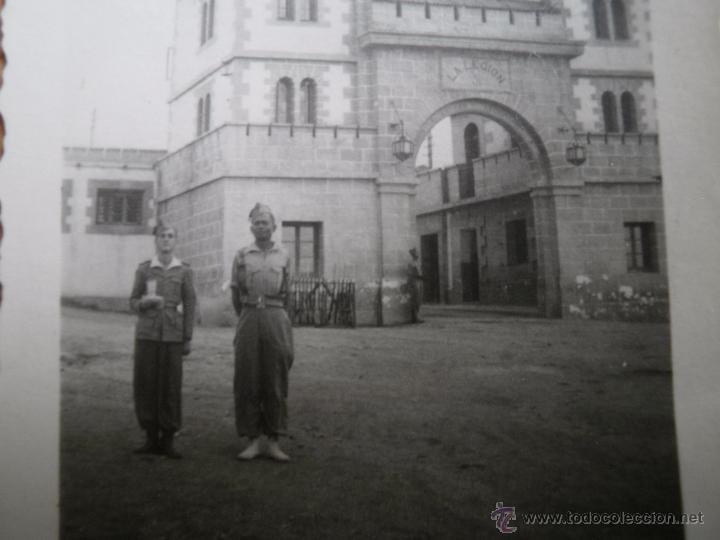 Militaria: Fotografía puerta cuartel legión Dar Riffien. 1941 - Foto 3 - 53604089