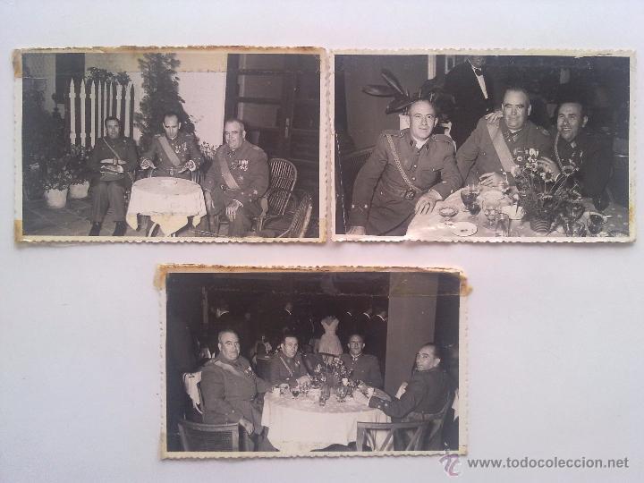 LOTE 3 FOTOGRAFIAS, EJERCITO, MILITAR, MILITARES, MEDALLAS, CONDECORACIONES (Militar - Fotografía Militar - Otros)