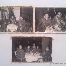 Militaria: LOTE 3 FOTOGRAFIAS, EJERCITO, MILITAR, MILITARES, MEDALLAS, CONDECORACIONES. Lote 53636770