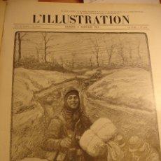 Militaria: REVISTA L ´ ILLUSTRATION DE ENERO A JUNIO DE 1915 TOMO ENCUADERNADO 26 REVISTAS FOTOS . MAPAS. Lote 53644055