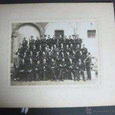 Militaria: FOTO MILITAR - SOMATENS ARMADOS ? - FOTO MIDE 17X 23 CM. - CARTON 28X34 CM - (V-3983 ). Lote 53666157