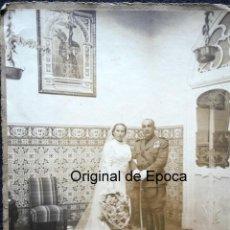 Militaria: (JX-1317)FOTOGRAFIA DE CAPITAN CON VARIAS CONDECORACIONES - GUERRA CIVIL ???. Lote 53707873
