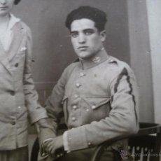 Militaria: FOTOGRAFÍA CARABINERO. SOLDADO DE PRIMERA GERONA. Lote 53743574