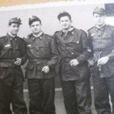 Militaria: FOTOGRAFÍA SOLDADOS PRÁCTICOS FERROVIARIOS DEL EJÉRCITO ESPAÑOL. VALLADOLID. Lote 53743827