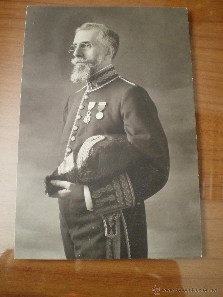 FOTOGRAFÍA ORIGINAL DIPLOMÁTICO ÉPOCA DE ALFONSO XIII (Militar - Fotografía Militar - Otros)