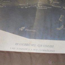 Militaria: GUERRA DE MARRUECOS RECUERDOS DEL CAUTIVERIO ALBUM FOTOGRÁFICO 47X32 CMS. Lote 53855654