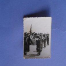 Militaria: ANTIGUA Y PEQUEÑA FOTO DE JURA DE BANDERA MIDE 9 X 6 C.M.. Lote 53960918
