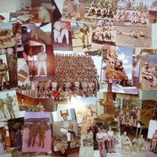 Militaria: LOTE FOTOGRAFÍAS CABO 1 REGIMIENTO INFANTERÍA N 50. CANARIAS. Lote 53993392