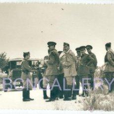 Militaria: FOTOGRAFIA GUERRA CIVIL ESPAÑOLA BATALLA DEL EBRO REPLICA #1. Lote 54036602