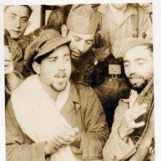 Militaria: PIORTIZ. EL CANTAOR FLAMENCO NIÑO DE ORTEGA EN UNA DE LAS COLUMNAS DE JAEN 1936 VINTAGE GUERRA CIVIL. Lote 54162596